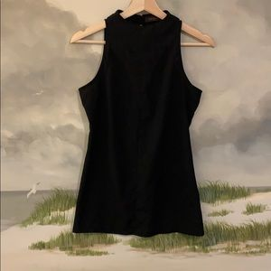 The Limited- Black Sleeveless Blouse